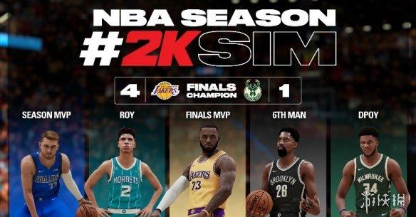 《NBA 2K21》新赛季模拟结果:湖人再次夺得总冠军!