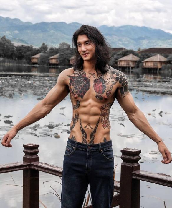 浪人剑客!缅甸男模Paing Takhon简直亚洲版海王!