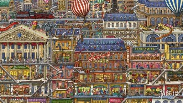 解谜类游戏《迷宫大侦探》推出试玩 明年3月发售!