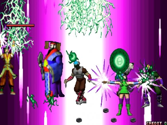 街机游戏的僵尸形象 不仅刀枪不入就连符纸都压不住