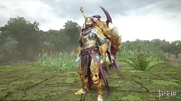 《怪物猎人:崛起》释出人鱼龙套装演示:风格神秘!