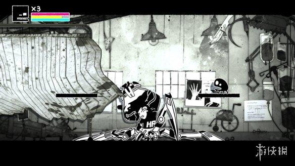 像素风格2D平台动作射击游戏《佩波Pepo》专题站上线