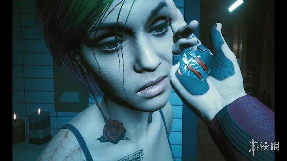 《赛博朋克2077》朱迪隐藏内容曝光 男性V也能攻略她