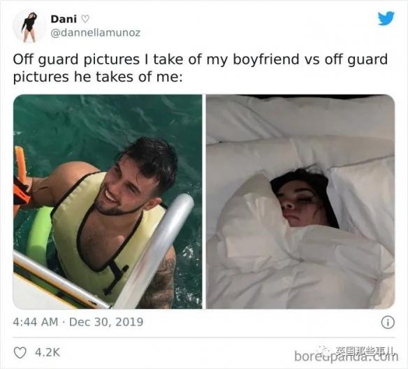 这都是什么鬼!男友拍照VS女友拍照 女友想砍人系列