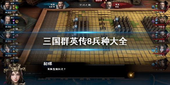 《三国群英传8》兵种有哪些 游戏兵种大全