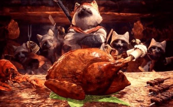 想吃猫饭吗?料理书《怪物猎人:猫饭食谱》即将上市