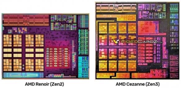 AMD Zen3 APU内核图提前偷跑:三级缓存直接质变!
