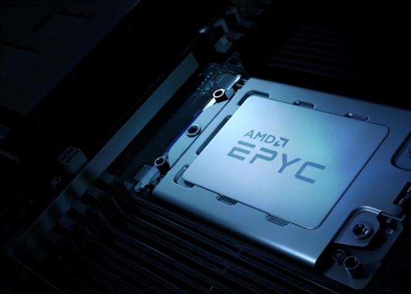 AMD 32核Zen3霄龙处理器曝光:单核跑分超Intel双路
