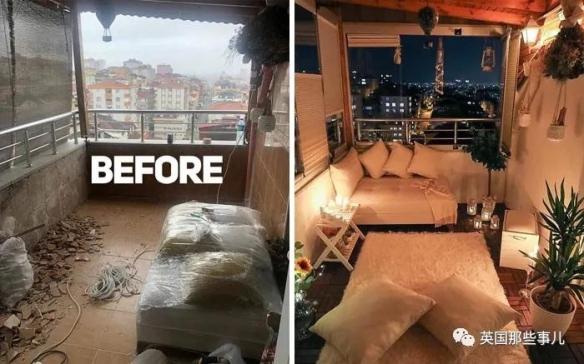 看得人神清气爽!国外网友晒破烂房子大改造前后对比