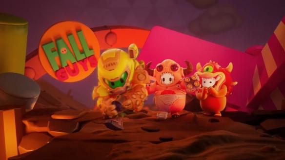 《糖豆人》公布《毁灭战士》联动预告片 三款新皮肤