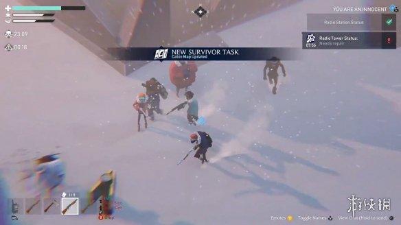 狼人杀社交推理游戏《冬日计划》将登陆主机平台