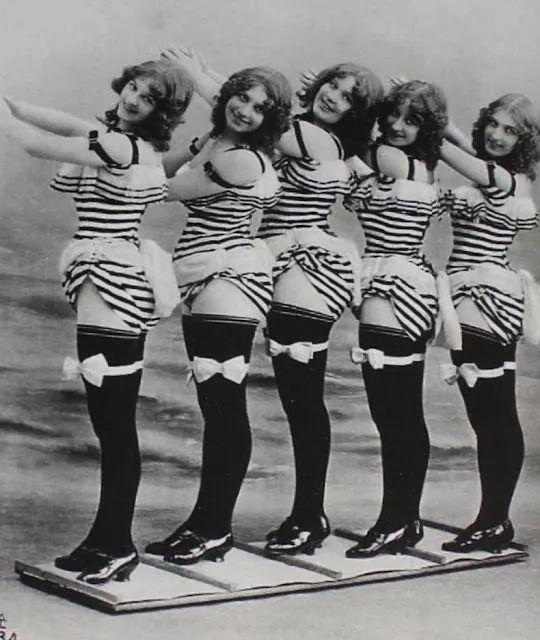 法国舞蹈团少女们身材好丰腴!15张有趣的历史照片