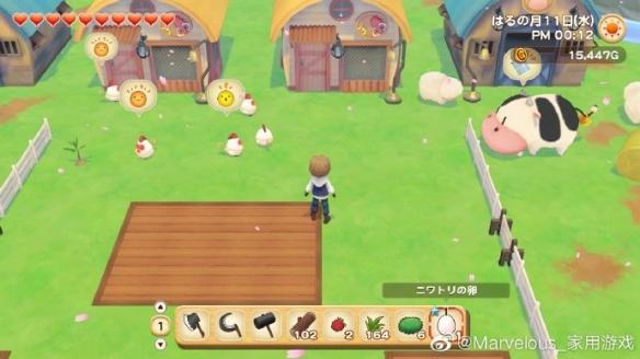 《牧场物语:橄榄镇与希望的大地》新图 玩法细节展示