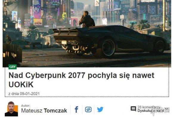 波兰监管部门盯上《赛博朋克2077》 若不达承诺将罚款