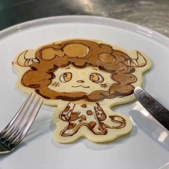 """舍不得吃!日本拉花松饼艺术家""""稻垣圭介""""松饼欣赏"""