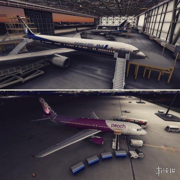 《微软飞行模拟》新截图 日本东京成田国际机场