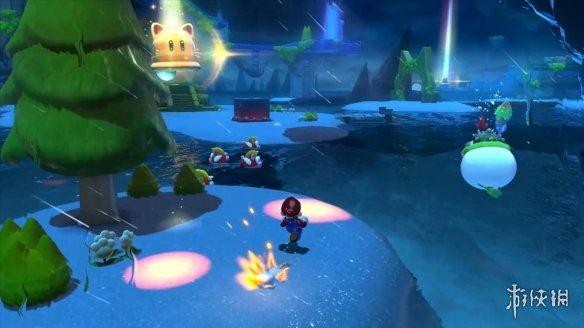 NS《超级马里奥3D世界》预告公布 游戏限定主机公布