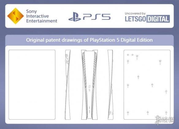PS5原始设计专利流出 手柄设计和最终产品有点不同
