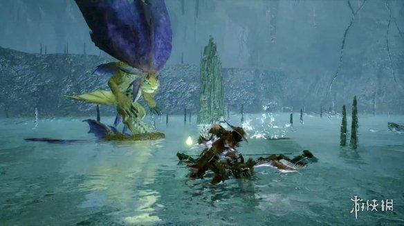 """《怪物猎人:崛起》新宣传片""""巨食人鱼""""公开!"""