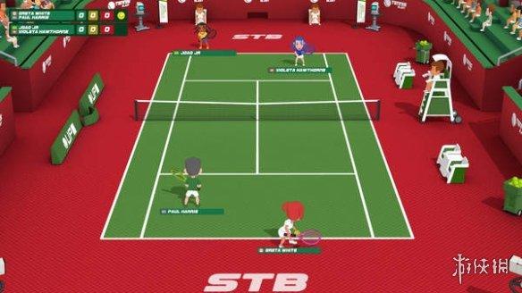 体育类游戏《超级爆裂运动》Steam平台1月29日发售
