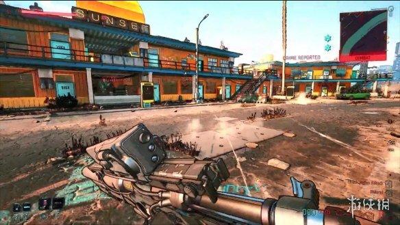 《赛博朋克2077》卡通画风mod 游戏秒变无主之地4!
