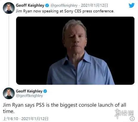 "PlayStation CEO称PS5是""有史以来最大的游戏机发布"""