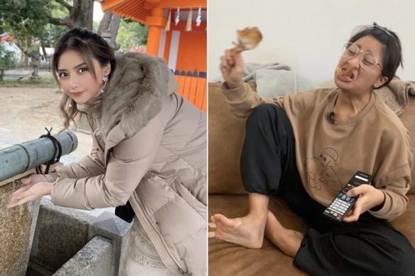 泰国正妹「居家面试的理想与现实」:稳妥的上半身!