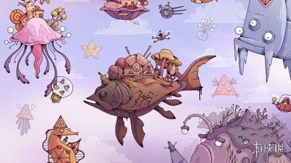可爱手绘风《TOHU》1月28日发售!鱼星球的奇妙冒险