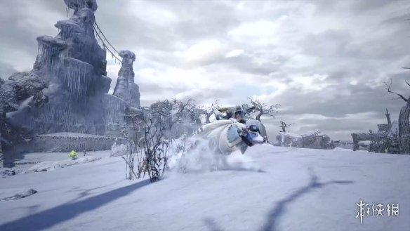 《怪物猎人:崛起》牙猎犬新演示 还能雪地漂移!