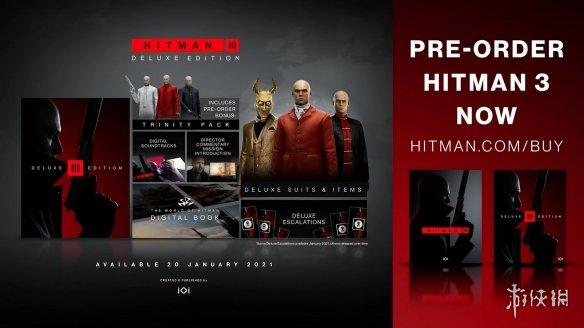 福利满满!《杀手3》官方发布豪华版游戏介绍视频