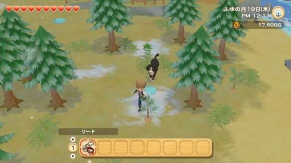 《牧场物语:橄榄镇与希望的大地》新图 自定义展示