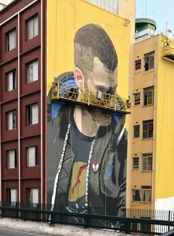 巴西圣保罗《赛博朋克2077》壁画因违规遭罚款