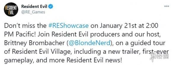《生化危机8:村庄》将于1月22日公布首个实机演示!
