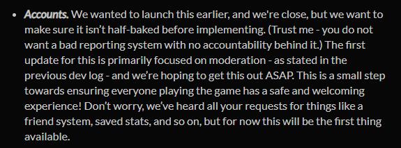 《Among us》账户系统已接近完成 官方:将尽快推出