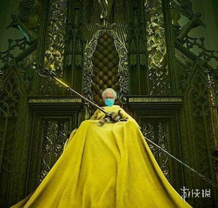 爆笑表情包!粉丝自制《恶魔之魂》黄衣老翁BOSS图片
