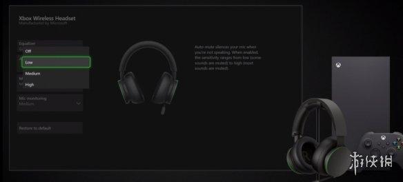 同级最佳音讯性能!微软公布全新XBOX耳机 3月发售!