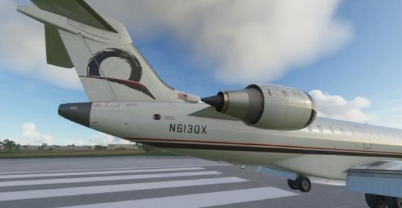 《微软飞行模拟》新截图 CRJ900,CRJ1000细节展示