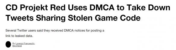 CDPR全力解决代码泄露事件:删除分享下载的推文!