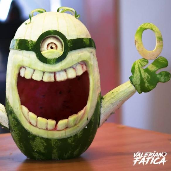 牛油果变成皮卡丘!意大利艺术家分享水果蔬菜雕刻