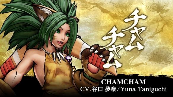 《侍魂 晓》季票3角色第一弾查姆查姆3月16日上线