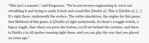 《暗黑破坏神2:重制版》会是下一个《war3:0.6》吗?