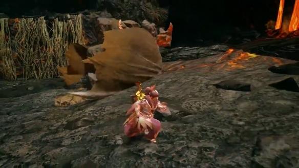 《怪物猎人:崛起》新短片公布 坚石外壳岩龙再度登场