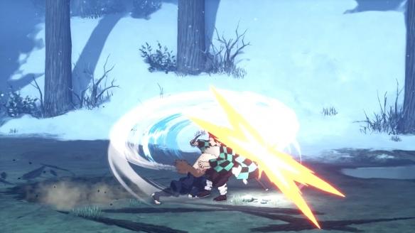 《鬼灭之刃》全新角色战斗演示:雷之呼吸与兽之呼吸!