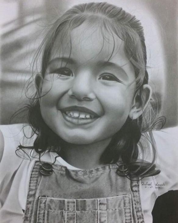 用铅笔把画画到极致!巴西艺术家的超现实素描欣赏