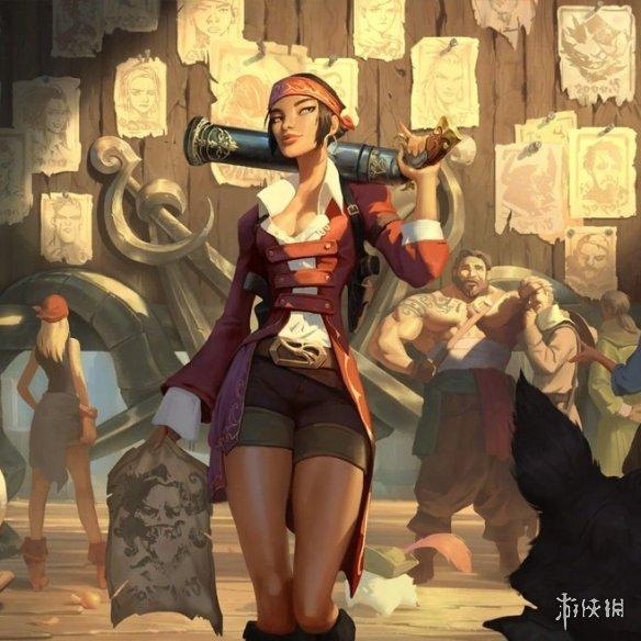 《英雄联盟》宇宙MMORPG正式公开!正在招聘设计师