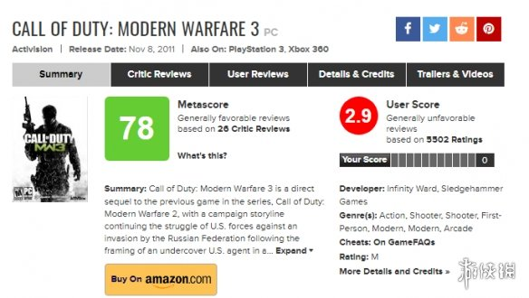 《美国末日2》只能排第二?十大口碑两极分化游戏