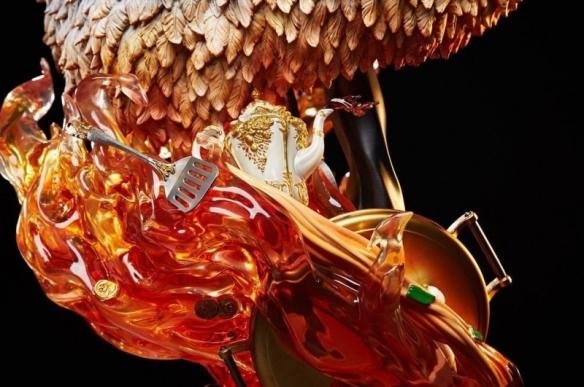 《海贼王》1/4山治大型战斗雕像 双手持枪帅气非凡!