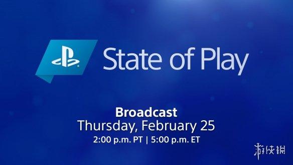 索尼State of Play将于26日举行!10款游戏有新消息!