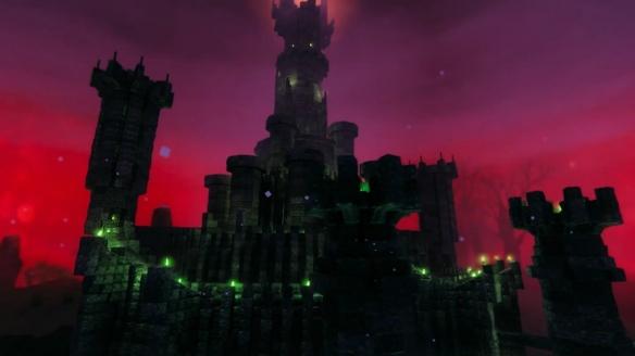 大神在《英灵神殿》打造索伦之塔 细节还原恢宏壮观