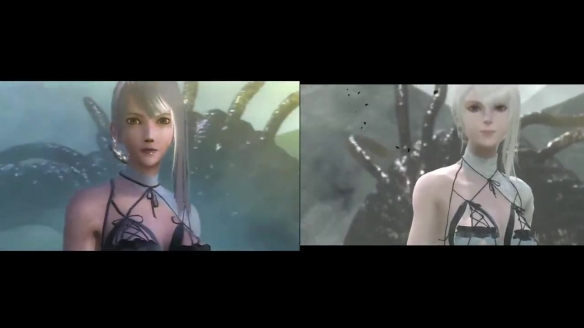 《尼尔:人工生命》VS PS3原版对比 画面提升明显!
